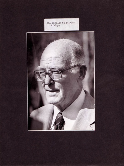 Dr. William McElroy